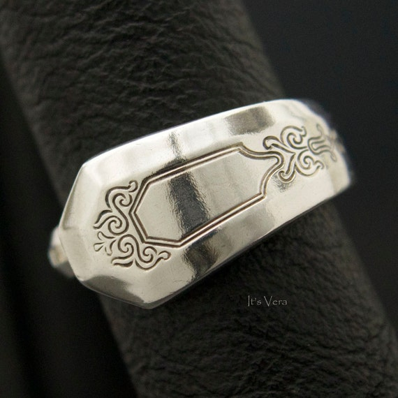 Spoon Jewelry Trendy Ring Cutlery Rings Silver Spoon Ring
