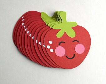 Kawaii Strawberries - Set of 12