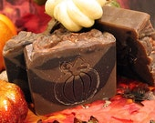 The Pumpkin King Natural, Handmade Soap- Pumpkin Spice with real pumpkin puree