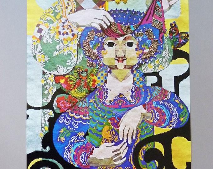 Bjorn Wiinblad Poster Arabian nights second theme 1973 print