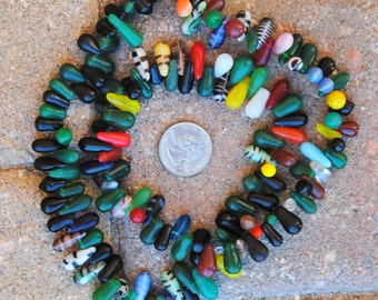 African Wedding Beads: Smaller Tear Drops