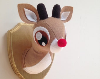 Rudolph Faux Taxidermy - Made to Order small size