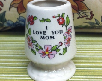 "Toothpick Holder ""I Love You Mom""  UNDER 10"