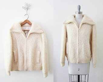 1970s Coat | Cream Outerwear | Wooly Bully Jacket