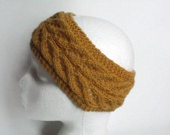 hand knitted headban knitted earwarmer   uk seller