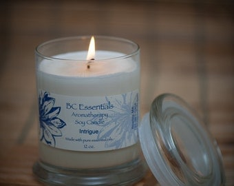 Intrigue Soy Candle
