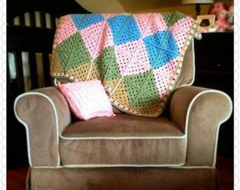 Custom throw blanket