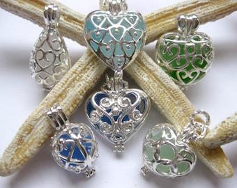 Beach Wedding Sea glass - Sea Glass Wedding Jewelry Beach Glass Jewelry, Handmade Custom Jewelry