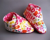 Baby girl shoes neon animal print shoes baby girl toddler girl shoes Velcro shoes infant shoes - Personality Plus