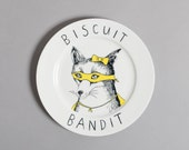 Biscuit Bandit side plate