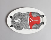 Mr Bear Serving Platter