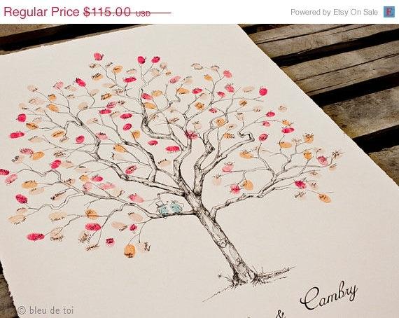 pleins d 39 id es d 39 arbres empreintes originaux pour votre mariage. Black Bedroom Furniture Sets. Home Design Ideas