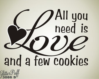 All You need is Love -  Love is all you need Cookie rubber stamp - Custom Wedding Treat Bag Stamp -   (G3086 Stock)
