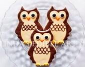 Owl Cookies (1 Dozen)