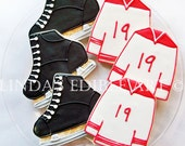Skates And Jersey Cookies
