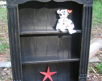 Black    cottage  distressed Bathroom , Vanity,  Cottage   cabinet