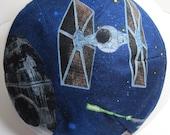 Star Wars Tie Fighters Death Star Kippah