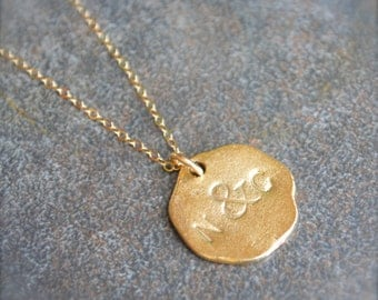 Ampersand Necklace, Best Friends Necklace, Couples Necklace, Personalized Necklace, You & Me