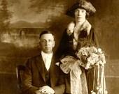 1920's Wedding Photos Digital