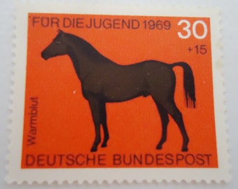 Two Deutsche Bundespot  Postage Stamps.1969
