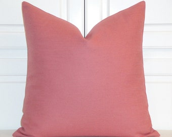 DOUBLE SIDED  - Decorative Pillow Cover - Orchid Pink - Square Or Lumbar - Accent Pillow - Cushion cover - Pillow Case