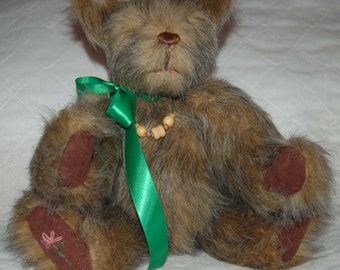 Handcrafted Ginger Brown Teddy Bear