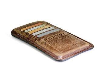 iPhone 6 plus RETROMODERN aged leather pocket