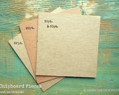 """100 4""""x4"""" Chipboard Squares: Rustic Kraft Brown Display Cards Recycled 4x4 (102mm) 20 pt (.020"""") 22 pt (.022"""") 30 pt (.030"""") or 50pt (.050"""")"""