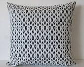Nate Berkus Indre Lynwood Navy decorative designer pillow cover