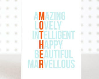 Your Amazing - Birthday & Mothers Day Card