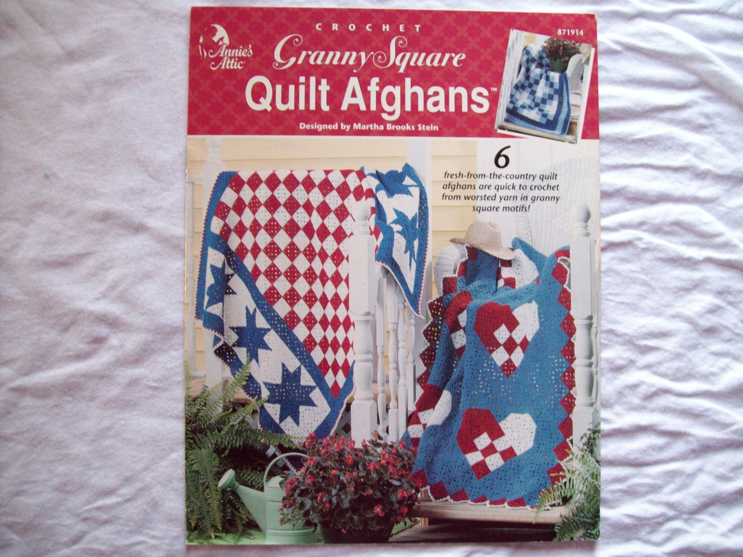 6 Crochet Blanket Patterns Granny Square Quilt by ...