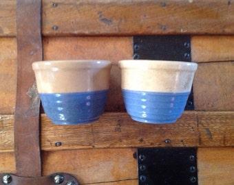Vintage Universal Potteries Small Bowls Set of 2