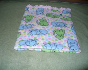 One Cat blanket warm and snuggly fleece