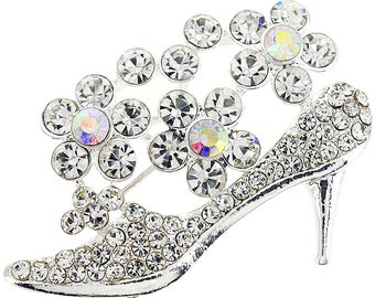 Crystal High Heel Pin 1004151