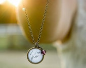 Handwritten Necklace | Note Jewelry | Photo Charm | Small Pendant | Memorial Jewelry