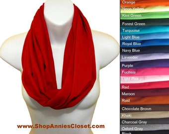 All In One Jersey Infinity Scarf Circle Scarf  Vest Shawl Capelet Hood Wrap Belt All Colors