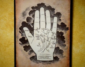 Palmistry Wall Plaque