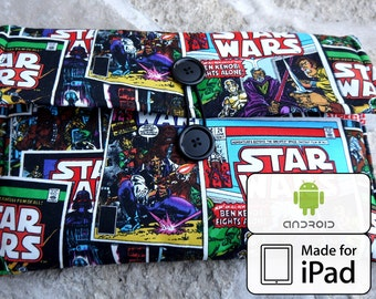 starwars bag ipad case android 10 inch tablet comic book fabric | star wars galaxy tab microsoft surface kindle cover 7 inch tablet case