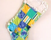 Lilly Pulitzer Trophy Patch Christmas stocking for little boys