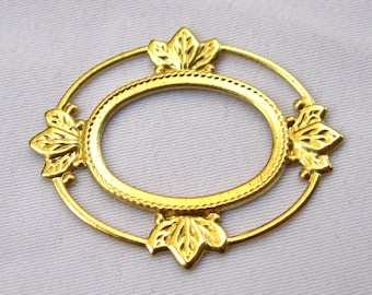 10pcs Filigree Findings Raw Brass Filigree DIY Wholesale Supply bf137