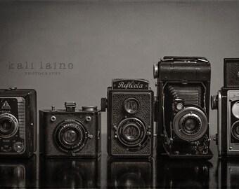 Vintage Cameras  -  Fine Art Photography Original Print, Home Decor, Art, Photography, Wall Art, Photography Print