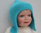 Baby Boy Ear flap Hat.