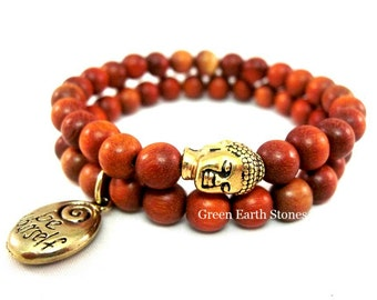 Be Yourself Buddha Bracelet Set
