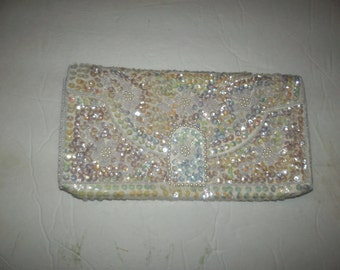 Vintage sequince evening bag in mint condition