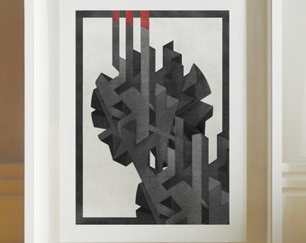 Structure - Archival Giclee Print by Eoin Ryan