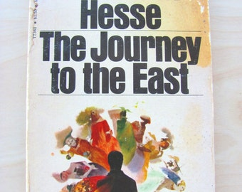 The Journey to the East Hermann Hesse Vintage Paperback Book Fiction Novel German Literature Midcentury Modern Philosophy Youth Chronicle