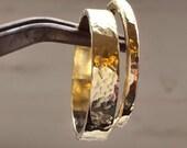 14k Yellow Gold Wedding Band Rings - Wedding Ring Set - Handmade Rings - Classic Timeless Gold Rings - Bridal Jewelry - Venexia Jewelry