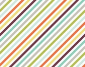 Oh Boy Stripe Orange by Lori Whitlock for Riley Blake, 1/2 yard