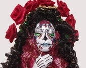 Day of the Dead Trinket Lady of Reflection