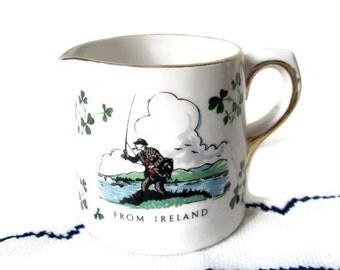 China Shamrock Irish Creamer - Carrigaline - Cork, Ireland- St. Patrick's Day